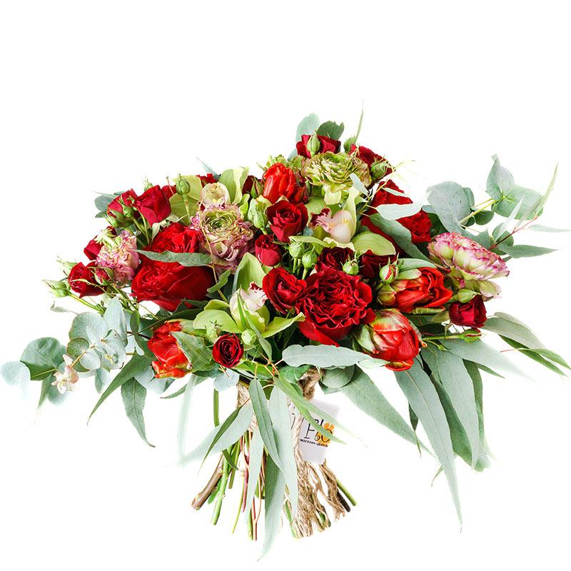 Мужские букеты с бордовыми розами, цветов санкт-петербург